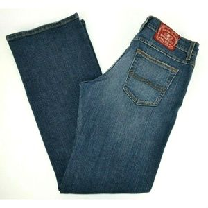 Lucky Brand Gene Montesano Classic Fit Blue Jeans